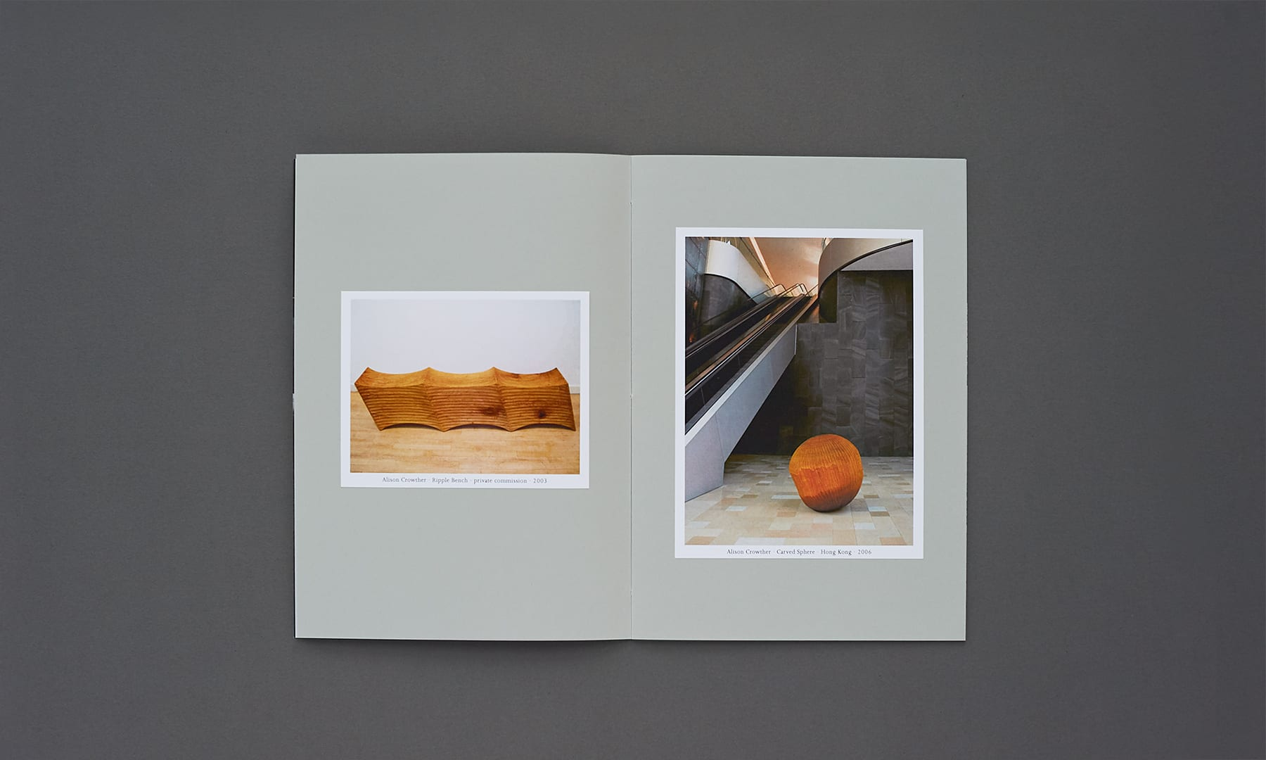 Alison Crowther Catalogue - spread