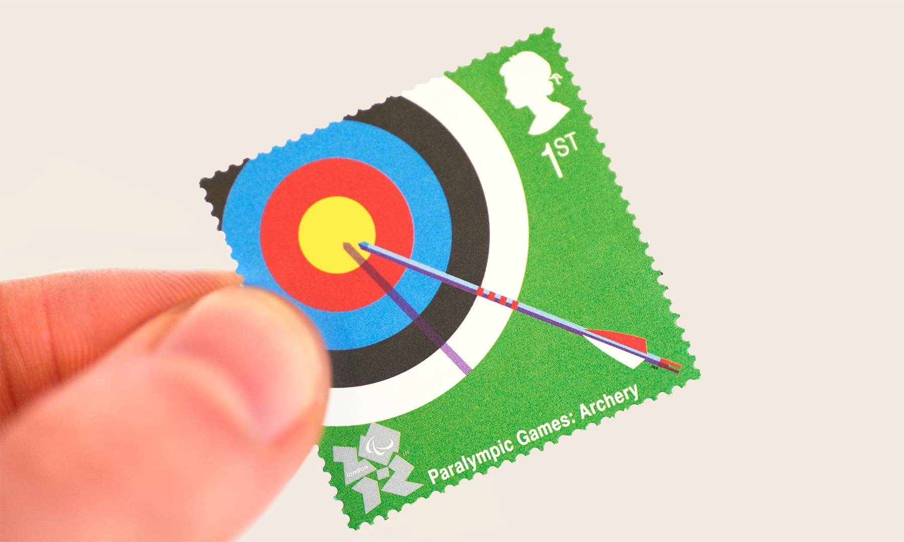Royal Mail - Paralympic Archery stamp