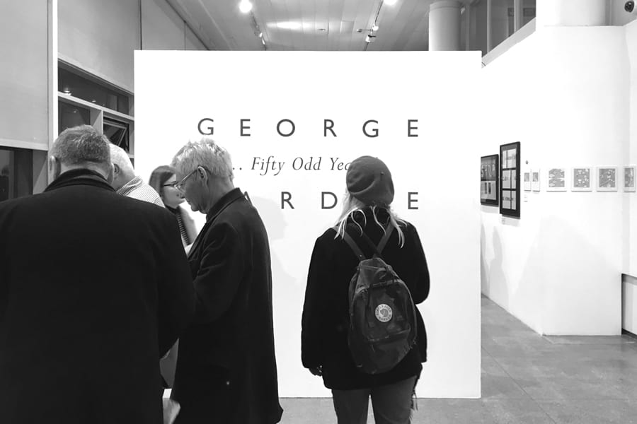 Fifty Odd Years - George Hardie - private view 1