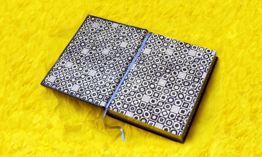 Royal Designers for Industry Pattern - book endpaper