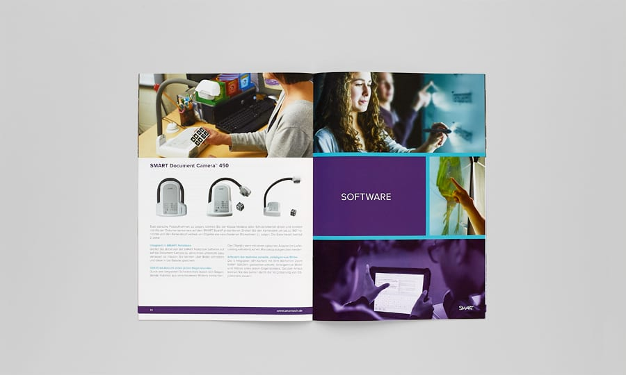 SMART Catalogue spread - product presentation 2